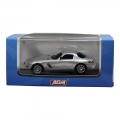 AGM Top Racer Slotcar - Mercedes Benz AMG SLS in Silber