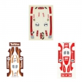 3er Set Original Carrera Decals - Scale 1:40