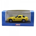 AGM Top Racer Slotcar - Mercedes Benz AMG SLS in Gelb